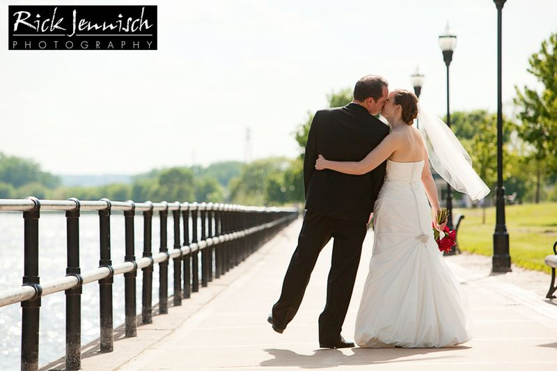 Quad cities wedding photographer rick jennisch for 5 star salon davenport ia