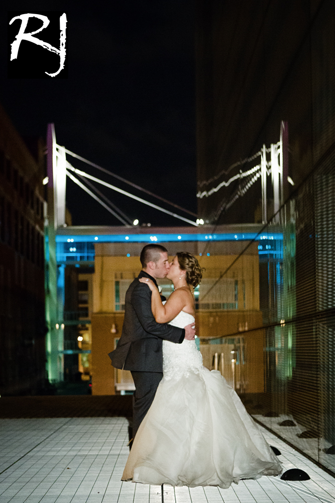 Wedding Photography At Night In The Quad Cities Quad Cities
